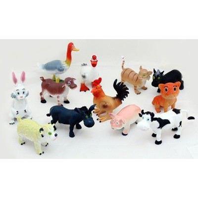 Tierfigur - Bauernhoftier - lustige Landtiere - grosse Ausführung | HM43270(12) / EAN:4045381103342