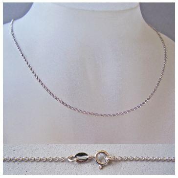 Halskette für Kinder, Anhängerkette, Erbskette, Kinderkette, 925 Silber | RL118