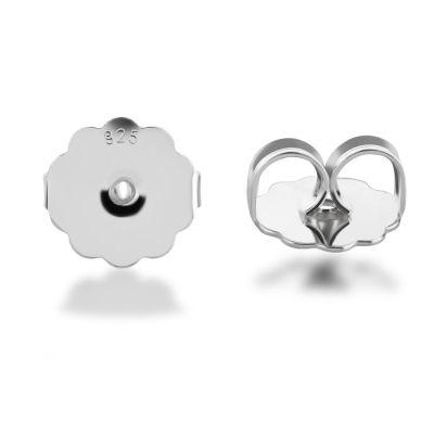 Verschluss für schwere Ohrstecker Ohrmutter groß 925 Silber 2 Stück | Zub-OSV-10 / EAN:4250887406532