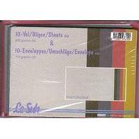 10 metallic Karten und Umschläge | 410765