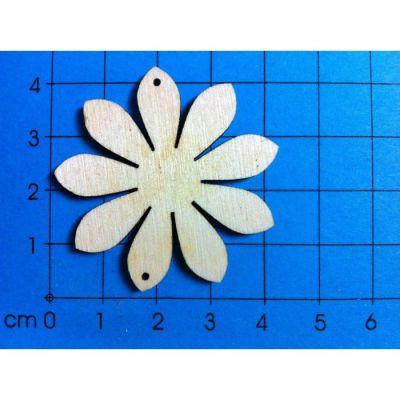 100mm - Margerite Holz 20mm - 400mm | BLH4902 / EAN:4250382843498