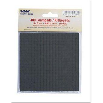 3D Klebepads Foampads, schwarz, 2mm | 91031
