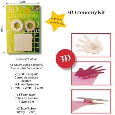 3D Vorteilspackung | 20395/09