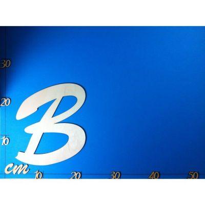 ABC Holz Großbuchstaben Schreibschrift 200mm natur   ACH 20G-Z