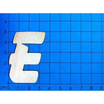ABC Holzbuchstaben natur Kleinteile gelasert 50mm | ABH 50-Ö
