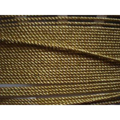 Acetat-Kordel 2mm gold glänzend | 157484601