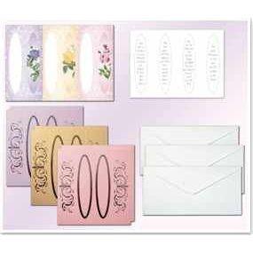 Bastel-Set Fensterkarten 3, Blumen | 30370