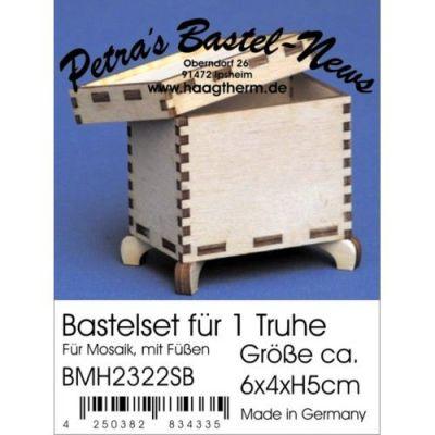 Bastelset Truhe 4x6x5 cm | BMH2322SB