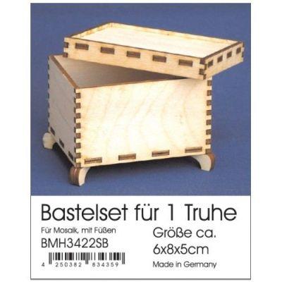 Bastelset Truhe 6x8x5 cm   BMH 3422SB