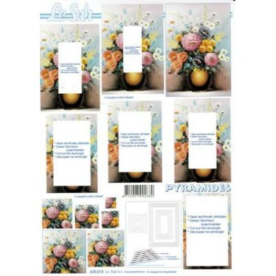 Blumen in Vase 2 | 630018