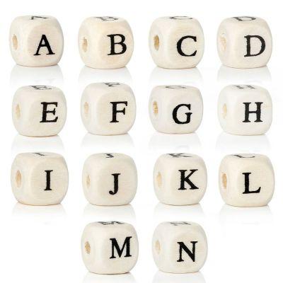 Buchstabenwürfel bedruckt 10mm A-Z, Holz | B42827