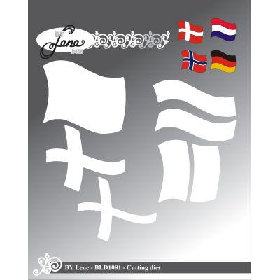 BY LENE DIES Grosse Flagge BLD1081 | BLD1081 / EAN:5712039011012