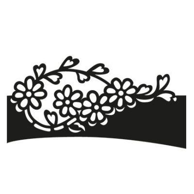 Craftables - Folding die Flower CR1270 Marianne Design | CR1270 / EAN:8716697036513