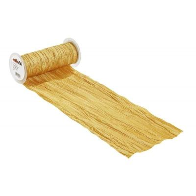 CREApop® Fripe Dekoband 20 cm x 10 m, gold | 3980456