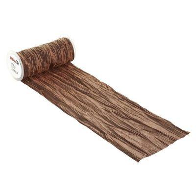 CREApop® Fripe Dekoband 20 cm x 10 m, nougat   3980465
