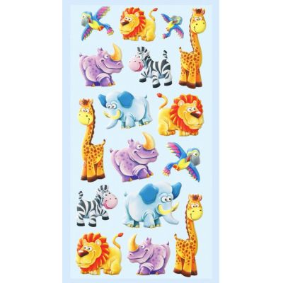 CREApop® SOFTY-Sticker Afrika | 3451238