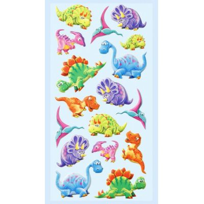 CREApop® SOFTY-Sticker Dino2 | 3451242