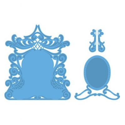 Creatables Petra's mirror LR0277 Marianne Design | LR0277