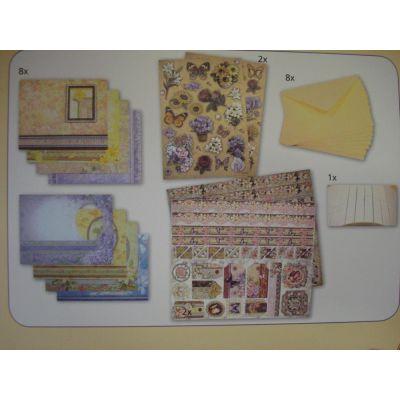Design-Set für romantische Karten Set 1 | 400100400