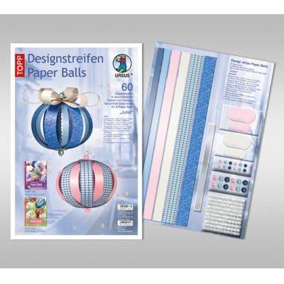 Designstreifen Paper Balls Set Juliet | 23440099