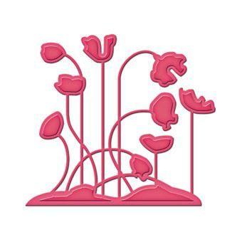 Die D-Lite S2-004 Poppy Patch Mohnblumen | S2-004