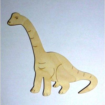 DINOSAURIER Diplodocus aus Holz   DSH 4616