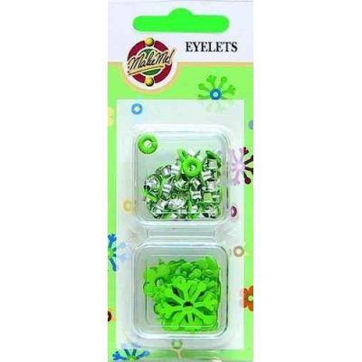 Eyelet grün | 112405/0105
