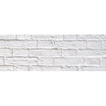 Fotokarton Backstein weiß 49,5 x 68 cm | 12722 256