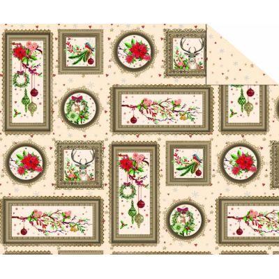 Fotokarton Weihnachtszauber 300g/m² 49,5 x 68 cm | 116622..