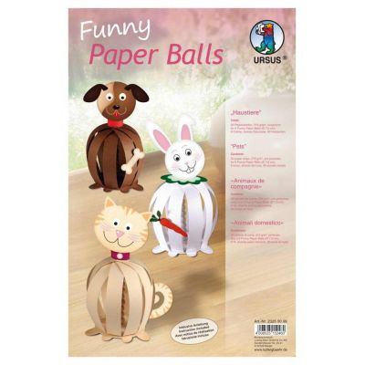 Funny Paper Balls, Haustiere | 23250099 / EAN:4008525152460