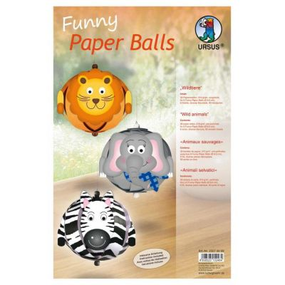 Funny Paper Balls, Wildtiere | 23270099 / EAN:4008525152484