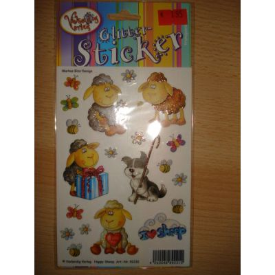 Glittersticker Happy Sheep | 92210