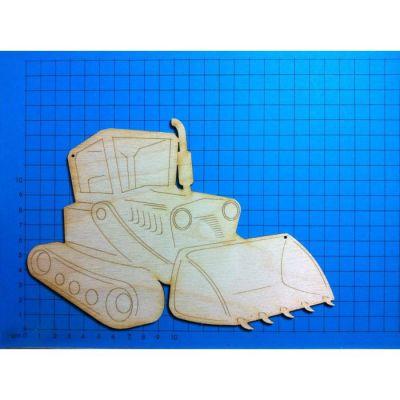 Holz Raupenfahrzeug 30mm - 200mm | VEH5806 / EAN:4250382871736