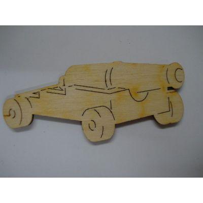 Holz Schiffskanone in unterschiedlichen Größen | PRH3406