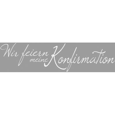 Holz Schriftstempel Konfirmation, 3x10 cm | 2800500 / EAN:4006166197970