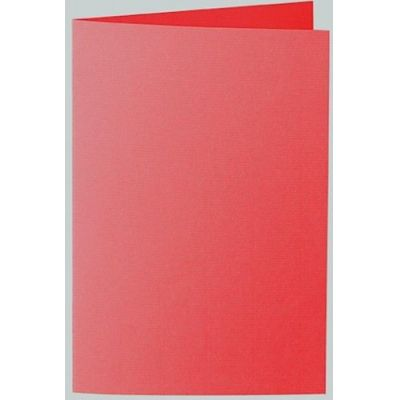 Karte / Kuvert C6, B6, A4, A5, Din lang Farbe: rot | 650362- 517