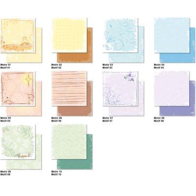 Konfirmation Taufe und Kommunion Scrappapier 30,5 x30,5 cm | 704300 01