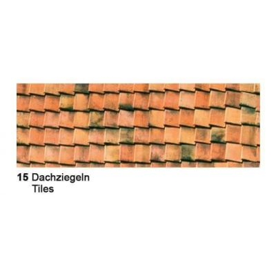 Motiv Fotokarton 300g/m² Dachziegel   12722215