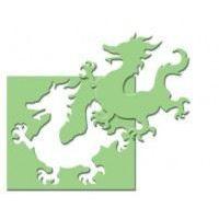 Motivlocher Stanzer Drache in 2 verschiedenen Größen | 1791144-25