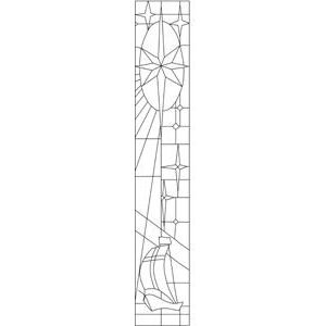 Motivstempel Kirchenfenster | P 27 9.19