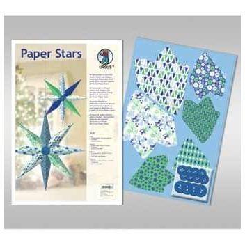 Paper Stars in blau ICE | 22560099