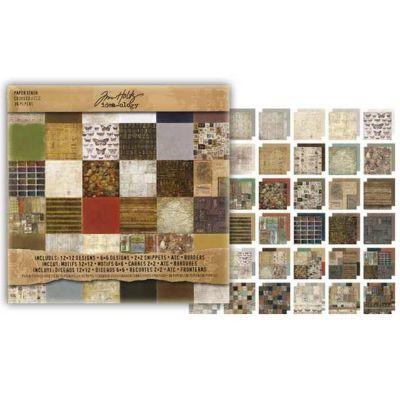 Paperpad crowded attic / 36 Bogen 30,5 x 30,5 cm | 117022/0005