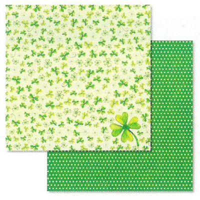 PREMIUM Glitter Scrapbook 30,5 x 30,5 cm Viel Glück   70300022-p