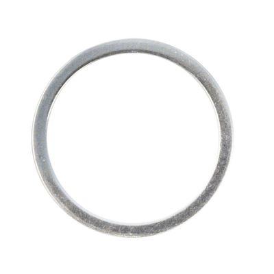 Schmuckring, Metall, flach silber 15mm oder 20mm | 15069606 / EAN:400616631707