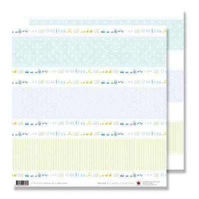 Scrapbook Baby 30,5x30,5 hellblau/azur | 78657356