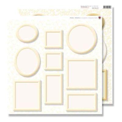 Scrapbook Bilderrahmen creme 30,5x30,5 | 149443226