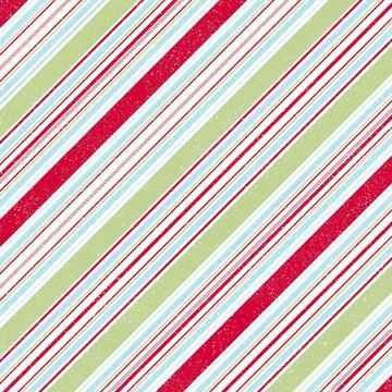 Scrapbook Design Papier FF Candy cane 30,5X30,5 | 117016/0096