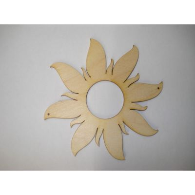 Sonne mit breiten Strahlen 100mm und 160 mm | SOH7110
