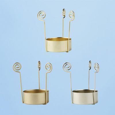 Teelichthalter gold | 3901010