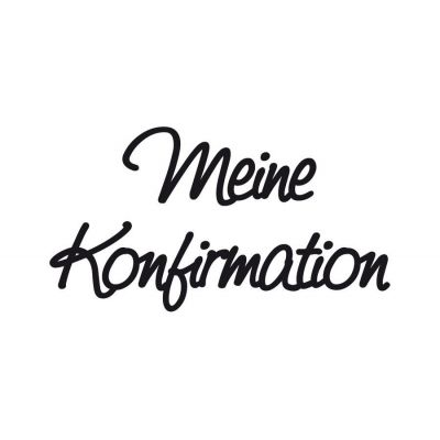 Wachsschrift Meine Konfirmation | 8306 048